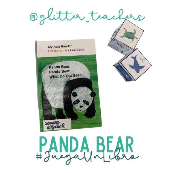 Actividad Juega un libro Panda Bear - Sandra Alguacil