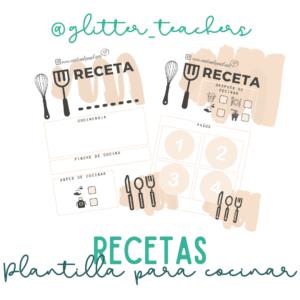 Actividad Recetas - Sandra Alguacil